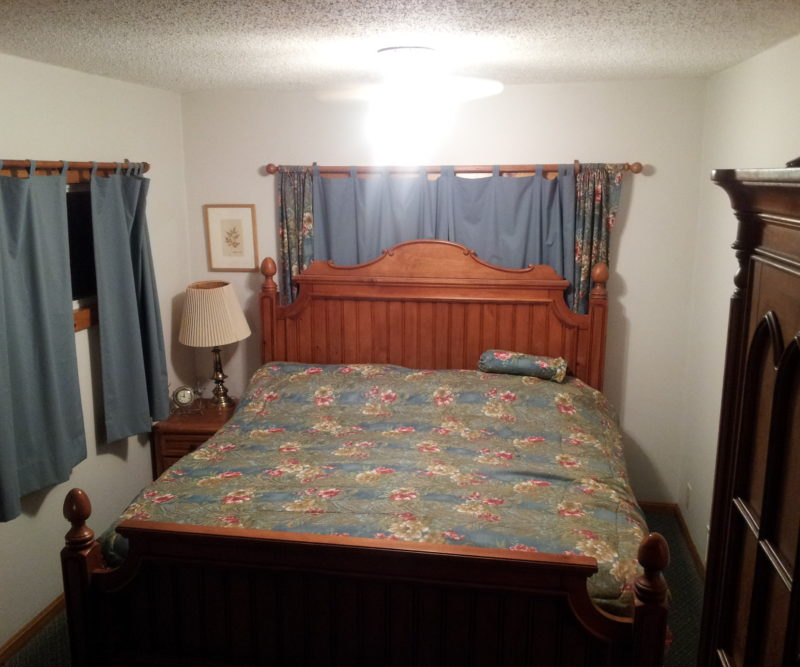 Picture of bedroom with King bed